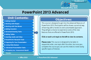 Powerpoint 2013 Advanced - eBSI Export Academy