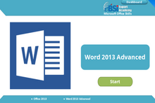 Load image into Gallery viewer, Word 2013 Advanced