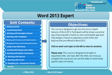 Load image into Gallery viewer, Word 2013 Expert - eBSI Export Academy