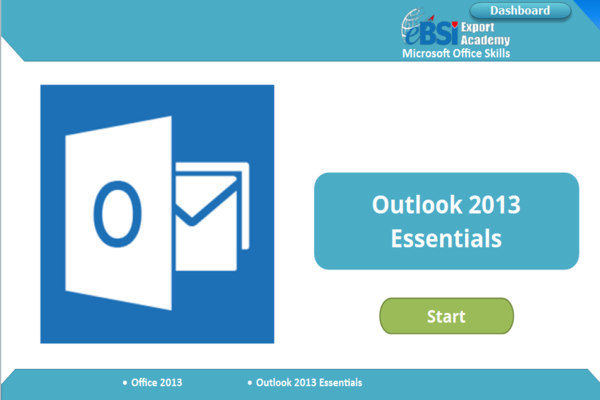 Outlook 2013 Essentials - eBSI Export Academy