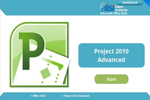 Project 2010 Advanced - eBSI Export Academy