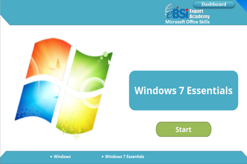 Windows 7 Essentials - eBSI Export Academy