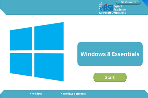 Windows 8 Essentials - eBSI Export Academy