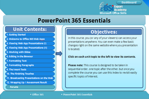 Powerpoint 365 Essentials - eBSI Export Academy