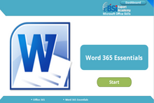 Load image into Gallery viewer, Word 365 Essentials - eBSI Export Academy