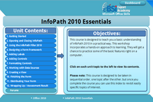 Load image into Gallery viewer, Infopath 2010 Essentials - eBSI Export Academy