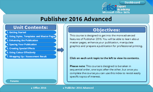Publisher 2016 Advanced - eBSI Export Academy