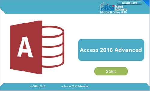 Access 2016 Advanced - eBSI Export Academy