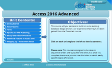 Load image into Gallery viewer, Access 2016 Advanced - eBSI Export Academy