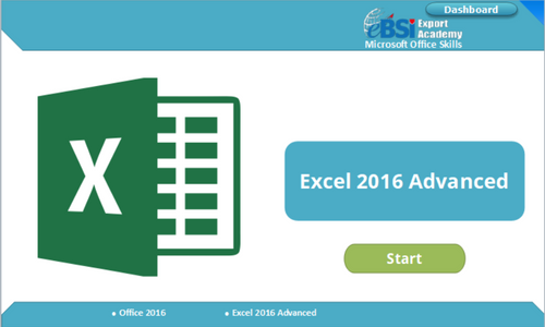 Excel 2016 Advanced - eBSI Export Academy
