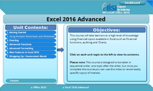 Load image into Gallery viewer, Excel 2016 Advanced - eBSI Export Academy