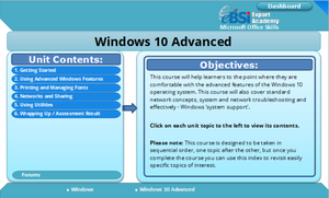 Windows 10 Advanced - eBSI Export Academy