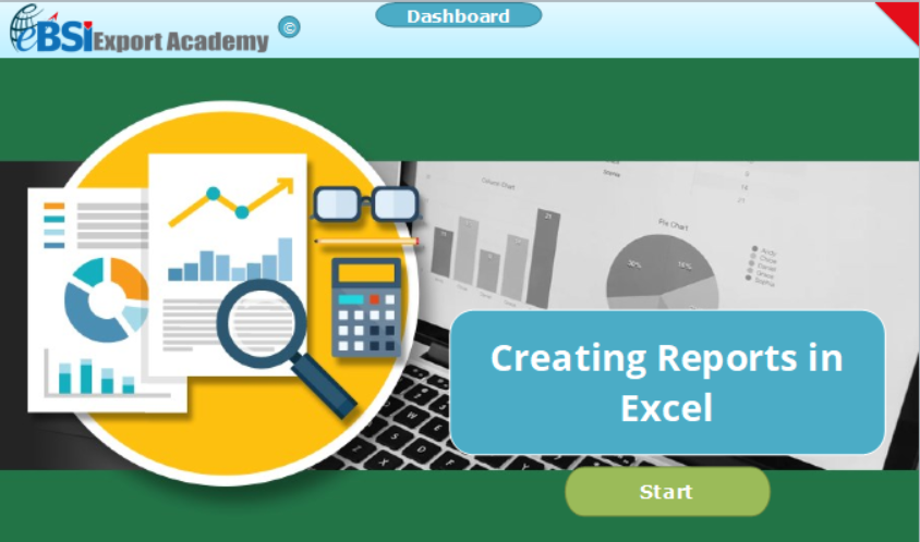 Creating Reports in Excel - eBSI Export Academy