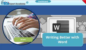 Writing Better with Word - eBSI Export Academy
