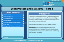 Load image into Gallery viewer, Lean Process and Six Sigma