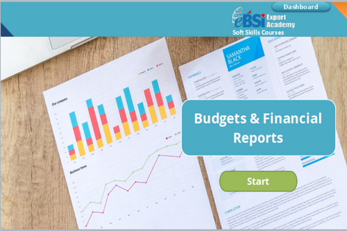 Budgets and Financial Analysis - eBSI Export Academy