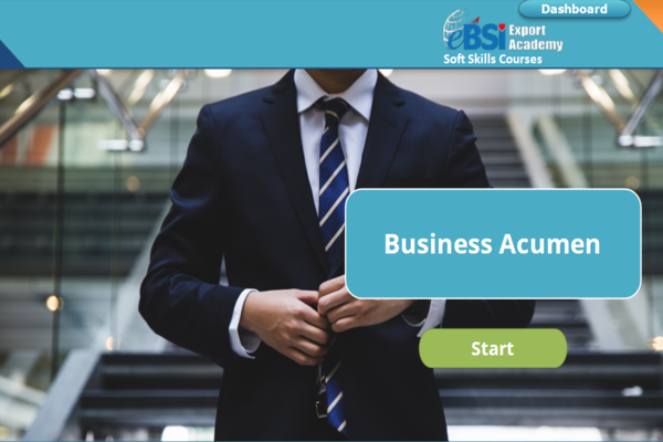 Business Acumen - eBSI Export Academy
