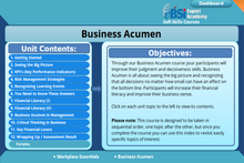 Load image into Gallery viewer, Business Acumen - eBSI Export Academy