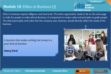Load image into Gallery viewer, Business Ethics - eBSI Export Academy