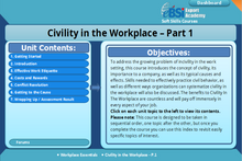 Load image into Gallery viewer, Civility in the Workplace