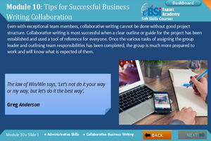 Collaborative Business Writing - eBSI Export Academy