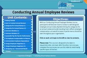 Conducting Annual Employee Reviews - eBSI Export Academy