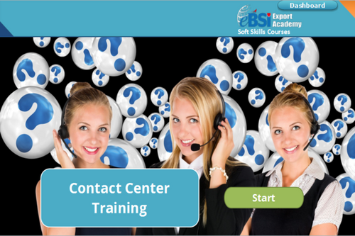 Contact Center Training - eBSI Export Academy