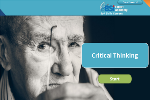 Critical Thinking - eBSI Export Academy