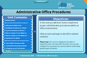 Administrative Office Procedures - eBSI Export Academy