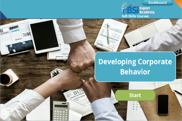 Developing Corporate Behavior - eBSI Export Academy