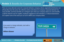 Load image into Gallery viewer, Developing Corporate Behavior - eBSI Export Academy