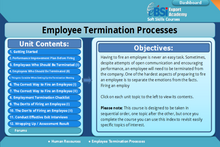 Load image into Gallery viewer, Employee Termination Processes - eBSI Export Academy