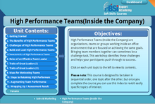 Load image into Gallery viewer, High Performance Teams Inside the Company - eBSI Export Academy