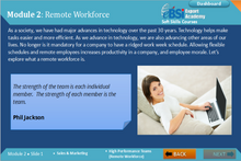Load image into Gallery viewer, High Performance Teams - Remote Workforce - eBSI Export Academy
