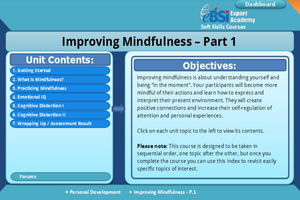 Improving Mindfulness