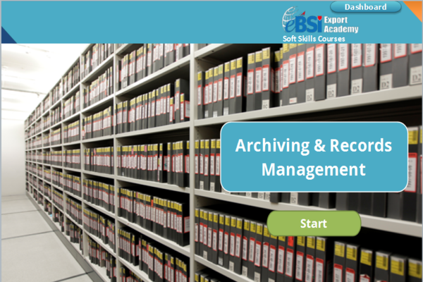 Archiving and Records Management - eBSI Export Academy