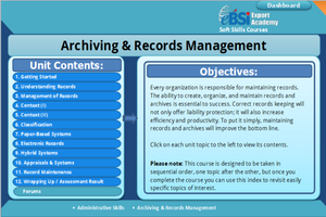 Archiving and Records Management