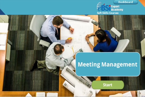 Meeting Management - eBSI Export Academy