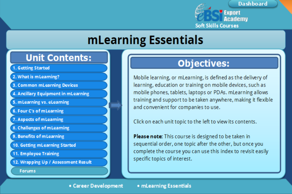 mLearning Essentials