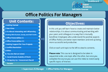 Load image into Gallery viewer, Office Politics For Managers