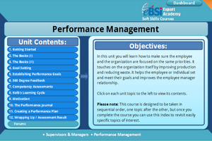 Performance Management - eBSI Export Academy