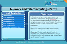 Load image into Gallery viewer, Telework And Telecommuting - eBSI Export Academy