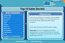 Load image into Gallery viewer, Top 10 Sales Secrets