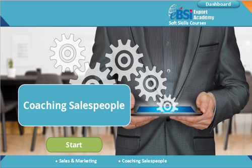 Coaching Salespeople - eBSI Export Academy