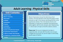 Load image into Gallery viewer, Adult Learning - Physical Skills - eBSI Export Academy