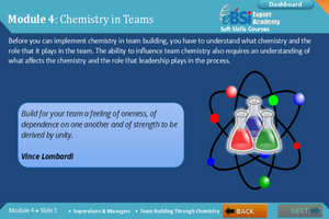 Team Building Through Chemistry