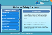 Load image into Gallery viewer, Universal Safety Practices