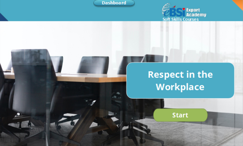 Respect in the Workplace - eBSI Export Academy