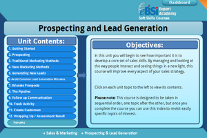 Prospecting and Lead Generation - eBSI Export Academy