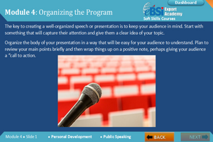 Public Speaking - eBSI Export Academy